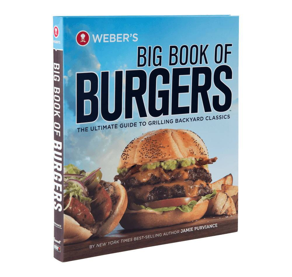 Weber BBQ Accessories Weber's Big Book of Burgers Cookbook