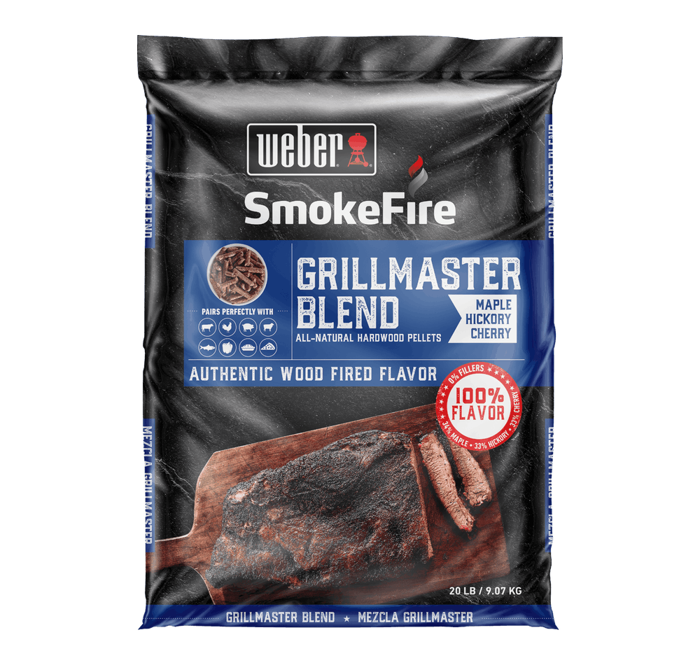 Weber BBQ Weber Grillmaster All-Natural Hardwood Pellets (20 Lb) - 190201