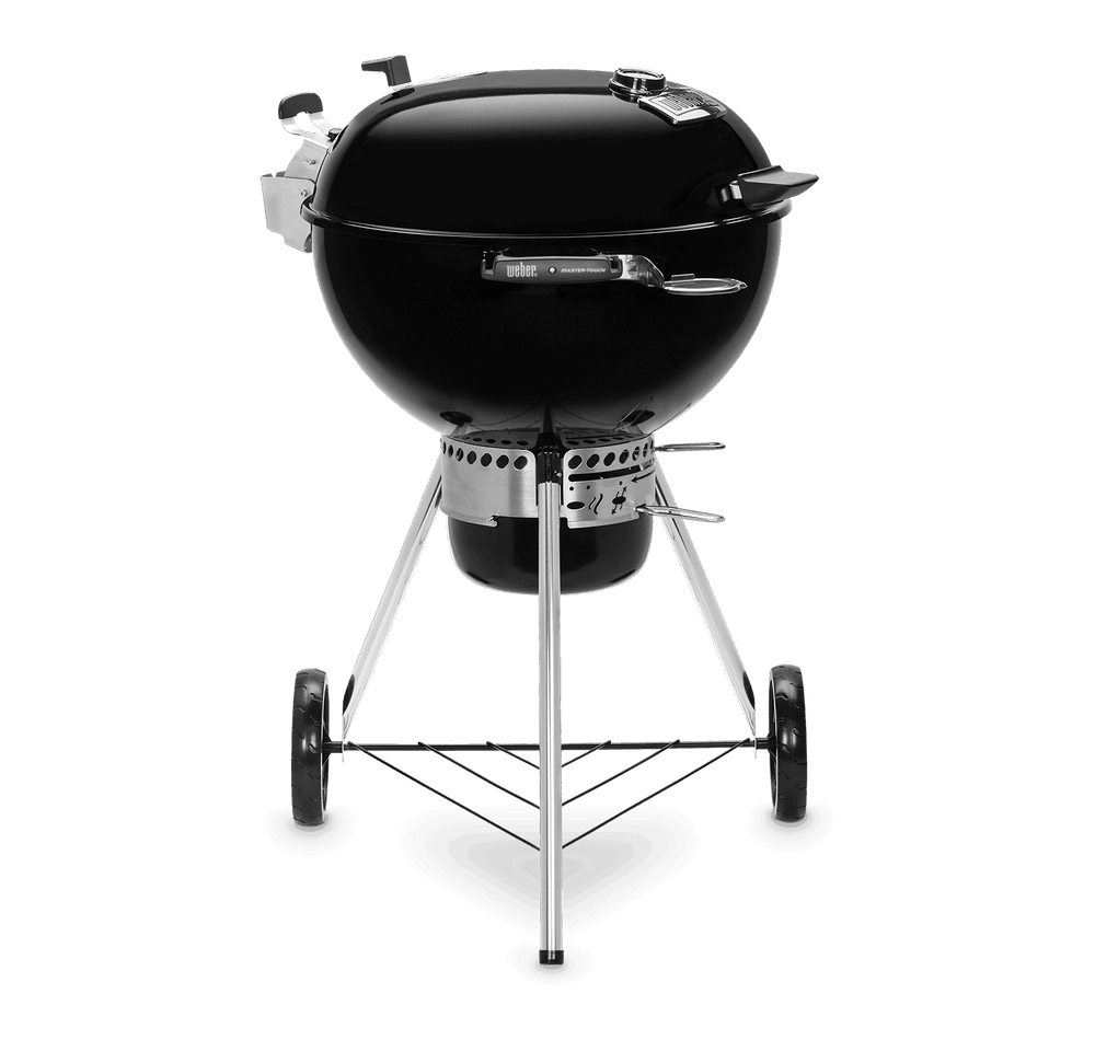 "Weber Grills - Charcoal & Kamado Exclusive Master-Touch Premium Charcoal Grill 22"" - Black"