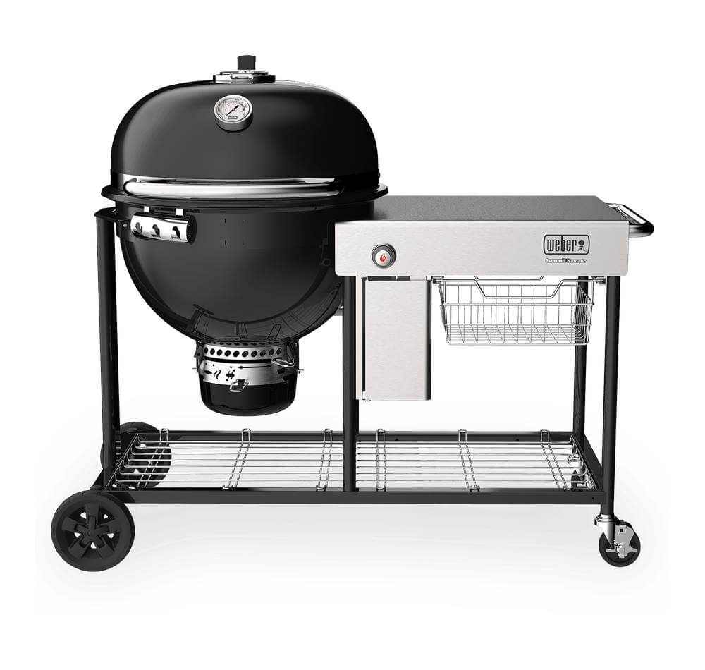 Weber Grills - Charcoal & Kamado New! Summit Kamado S6 Grill Center Grill - 18501101