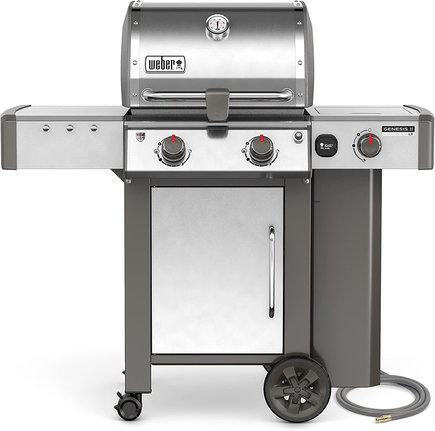 Weber Grills - Gas & Electric *Online Only - Genesis II LX S-240 Natural Gas Grill, Stainless Steel, Two-Burner | 65004001