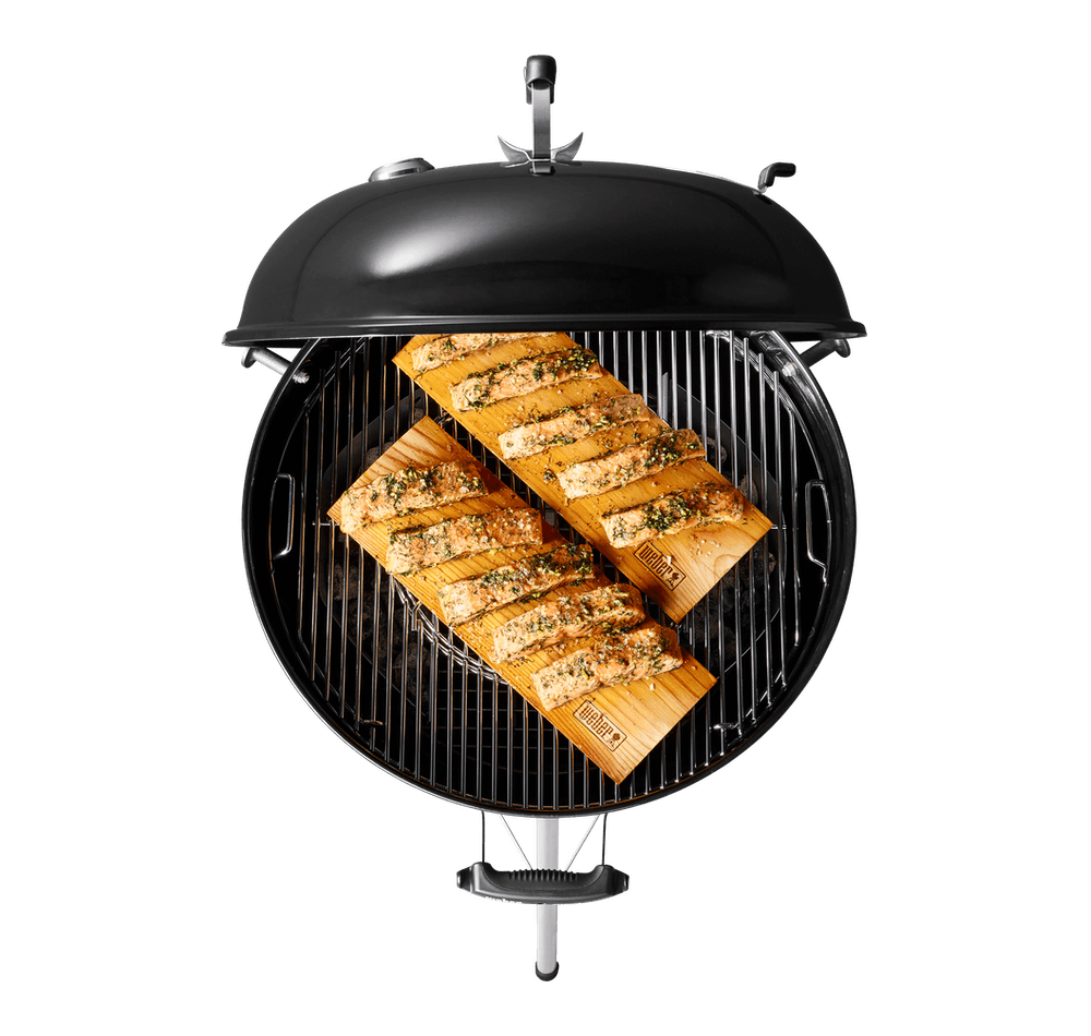 "Weber Weber Charcoal Grills Master-Touch Charcoal Grill 22"" Ocean Blue"