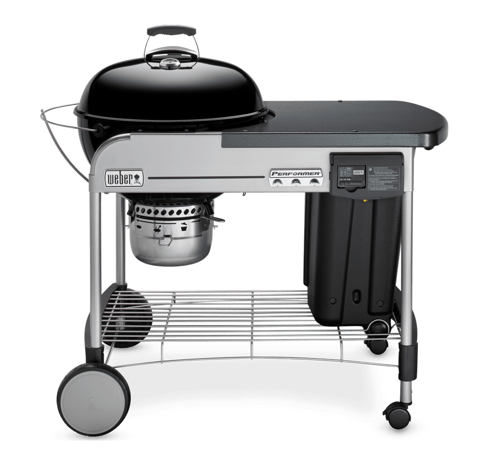 "Weber Weber Charcoal Grills Performer Deluxe Charcoal Grill 22"" Black - 15501001"