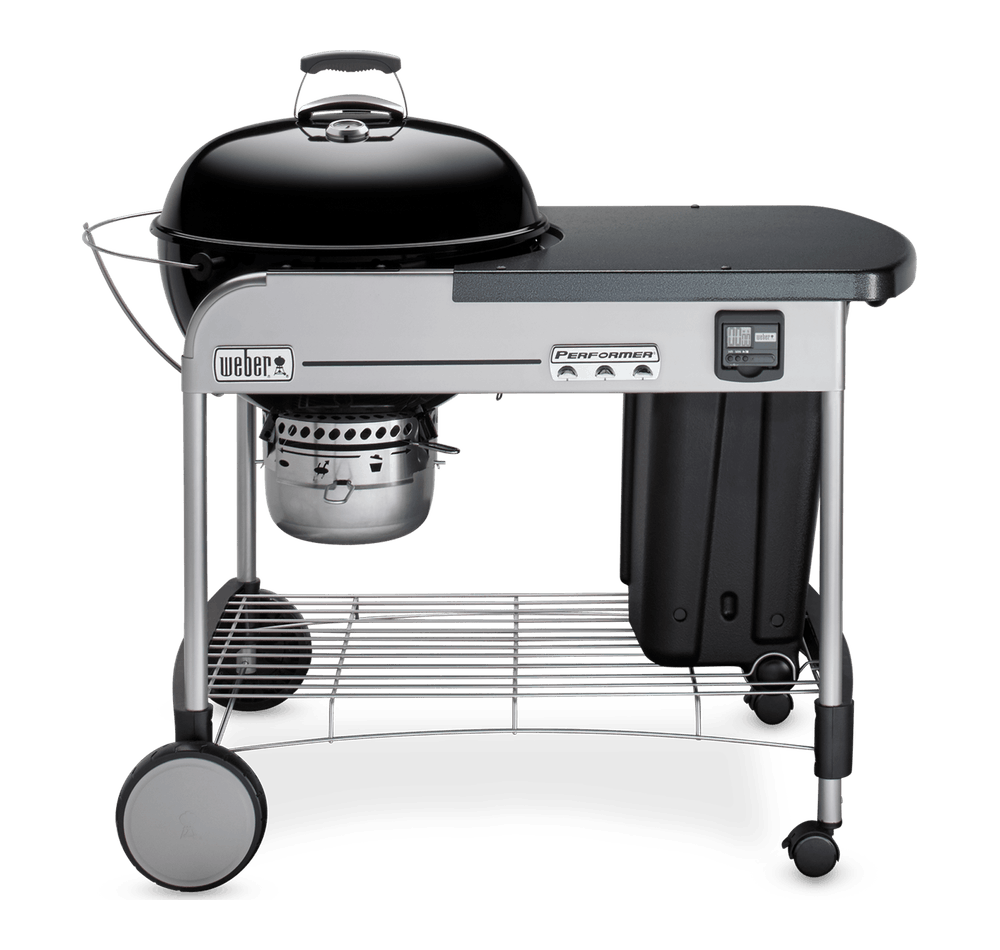 "Weber Weber Charcoal Grills Performer Premium 22"" Charcoal Grill Black - 15401001"