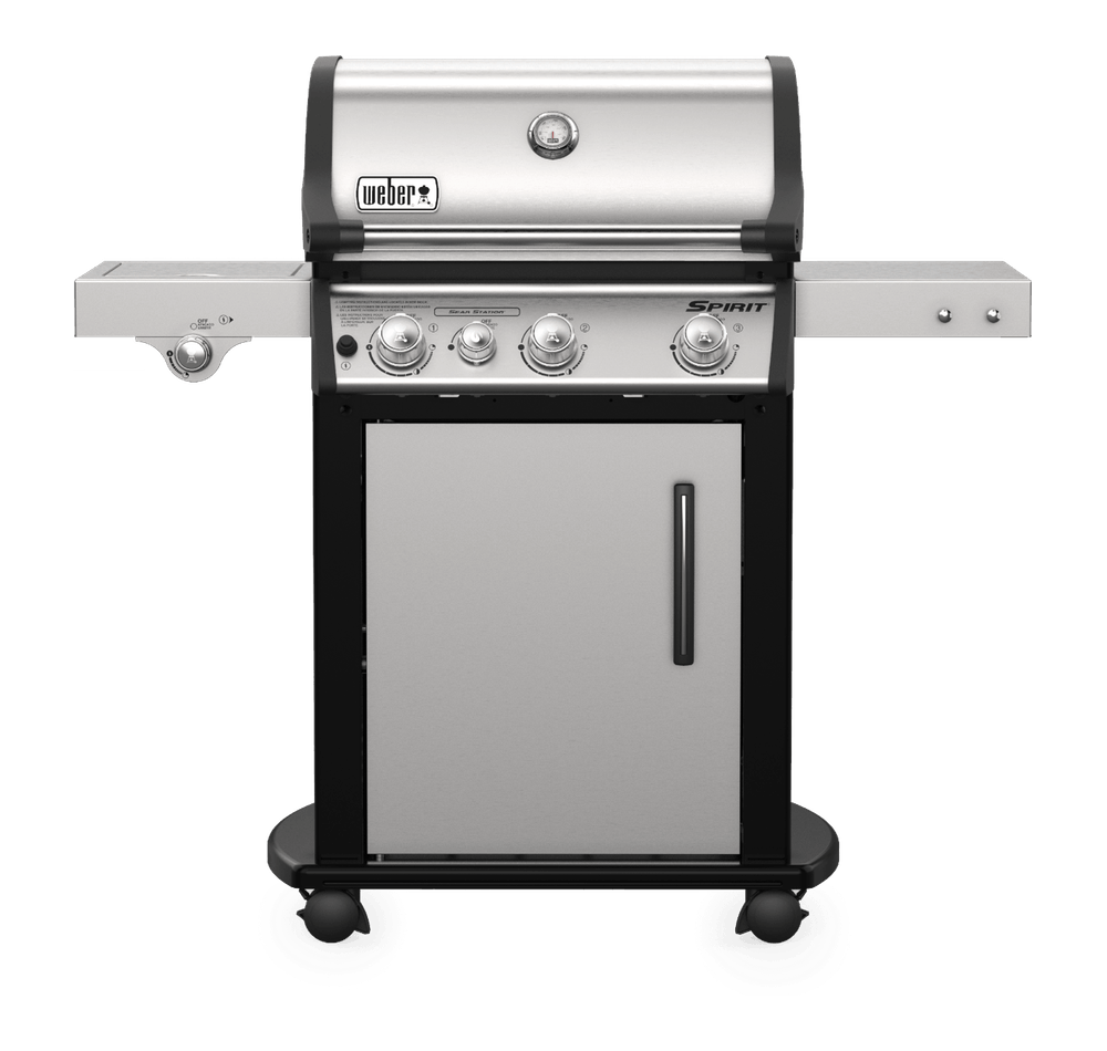 Weber Weber Gas Grills Spirit SP-335 Gas Grill NG Stainless Steel - 47802101