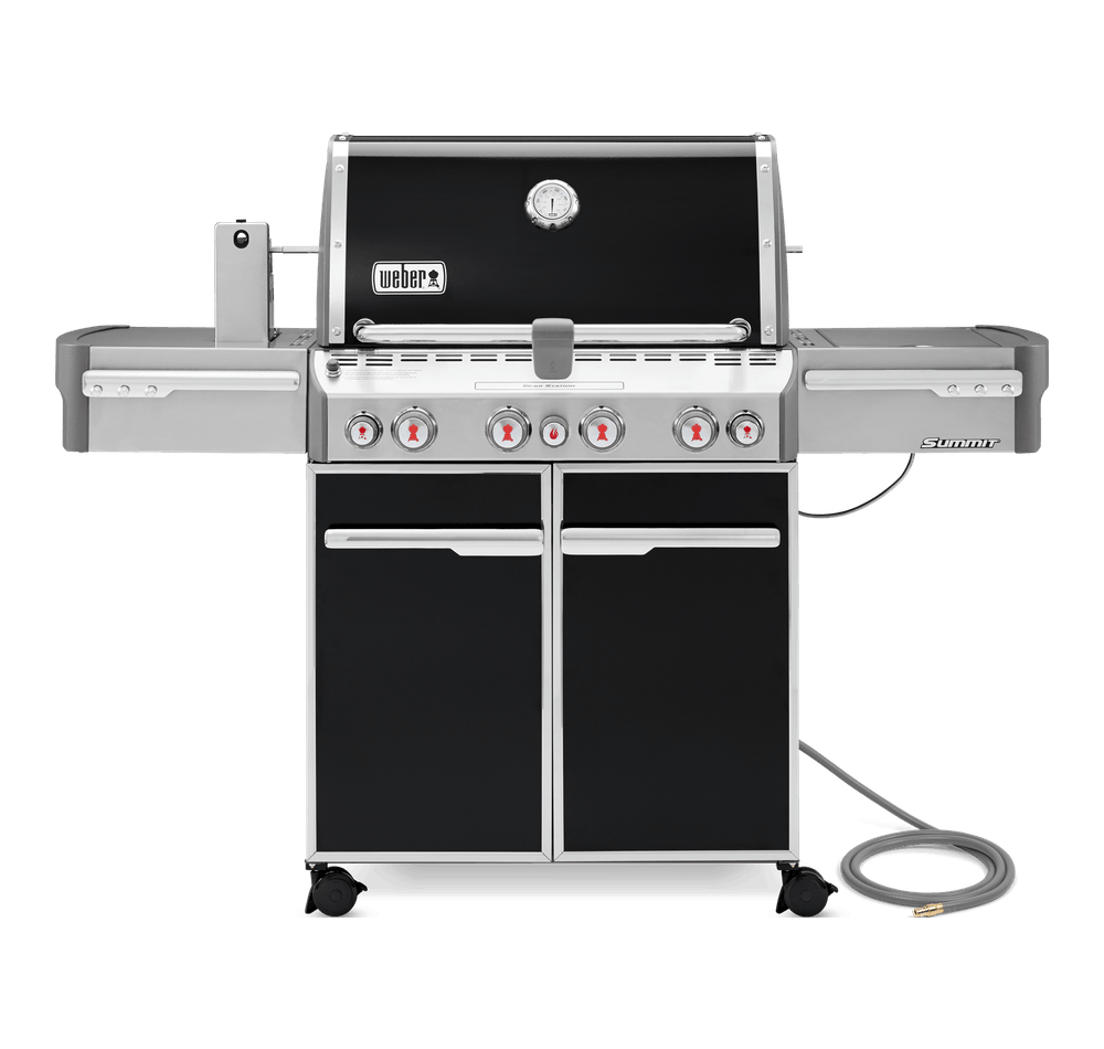 Weber Weber Gas Grills Summit E-470 Gas Grill Black NG