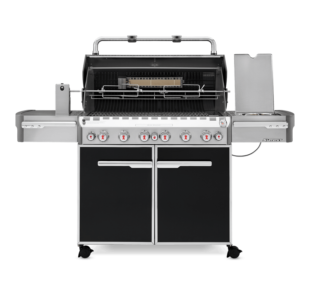 Summit E-670 Gas Grill Black LP