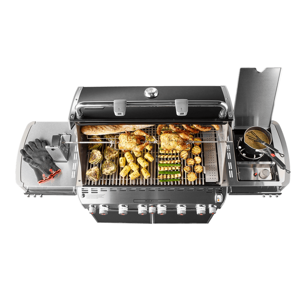 Weber Weber Gas Grills Summit E-670 Gas Grill Black NG