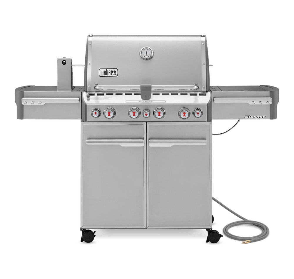 Weber Weber Gas Grills Summit S-470 Gas Grill Stainless Steel NG - 7270001