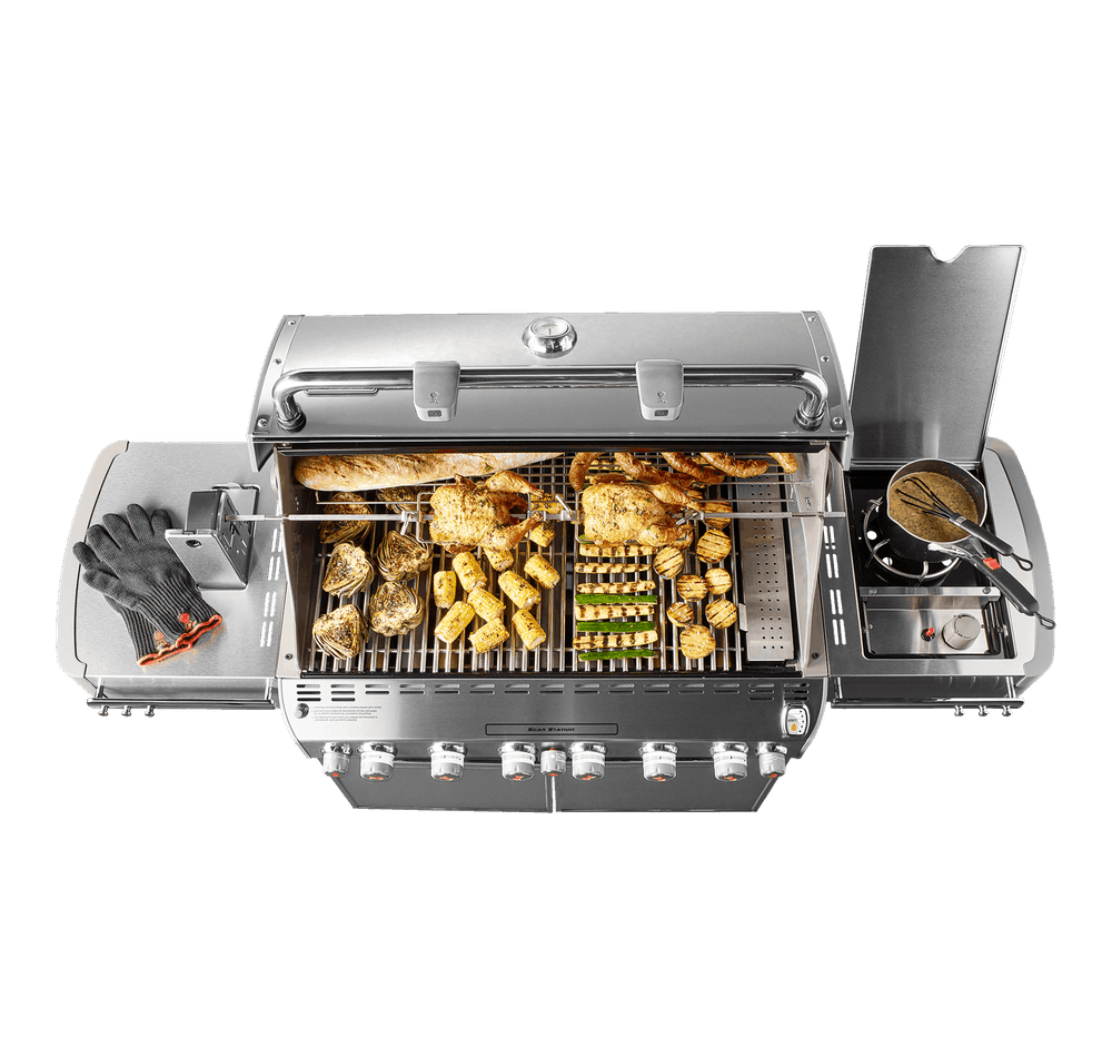 Weber Weber Gas Grills Summit S-670 Gas Grill Stainless Steel NG - 7470001