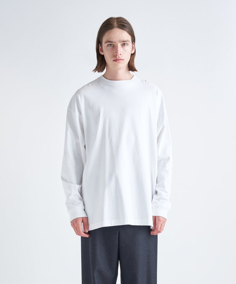 SUVIN AIR SPINNING | OVERSIZED L/S T-SHIRT