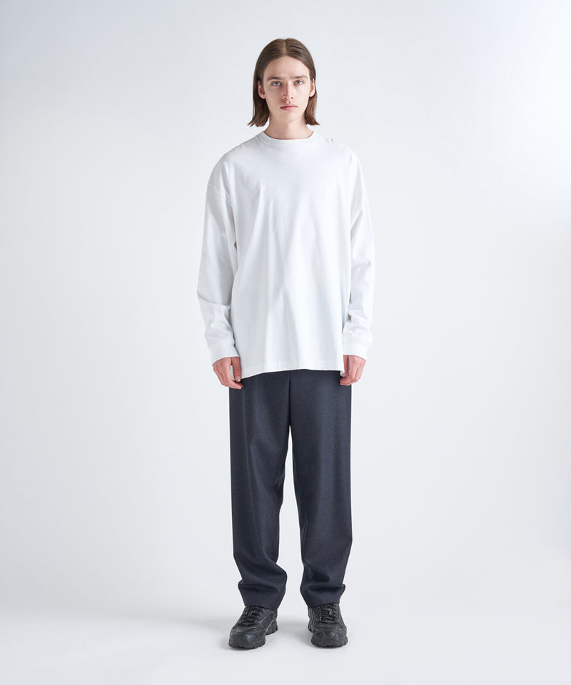 14/- SUVIN AIR SPINNING | OVERSIZED L/S T-SHIRT