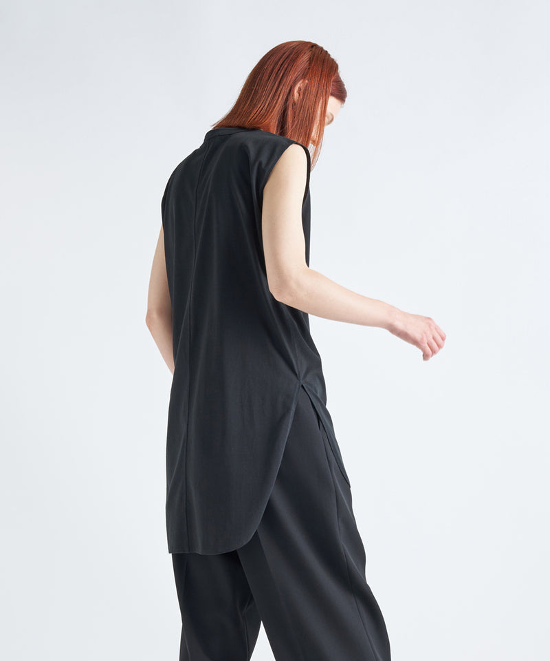 SUVIN AIR SPINNING | ROUND HEM TANK TOP