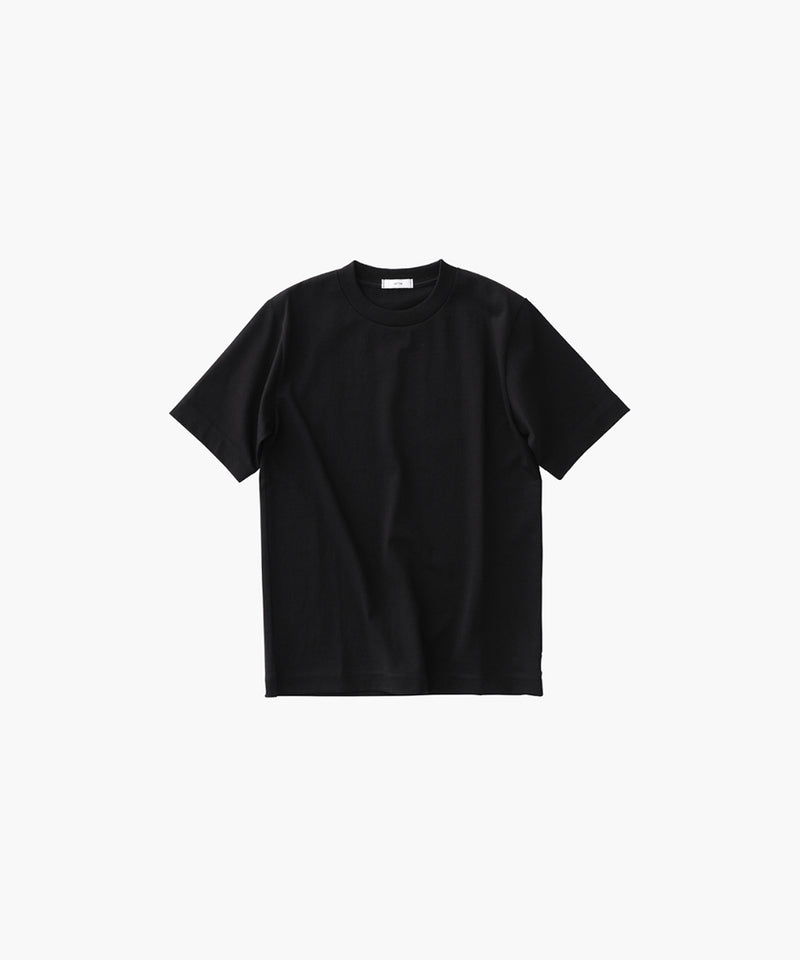 SUVIN AIR SPINNING | MOCK-NECK L/S T-SHIRT