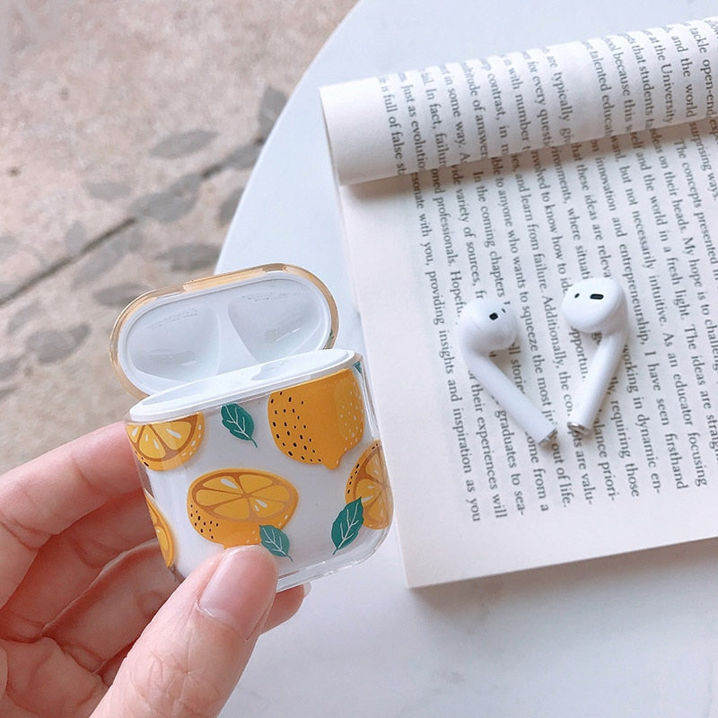 Hard Lemon Case for AirPods
