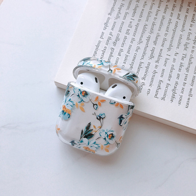 Hard Flower Case for AirPods