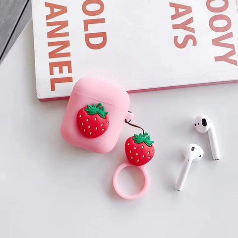 Jelly Strawberry AirPods 1 & 2 Case