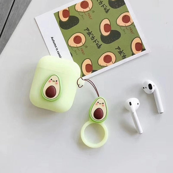 Jelly Avocado Case for AirPods