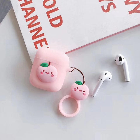 Jelly Peach AirPods 1 & 2 Case