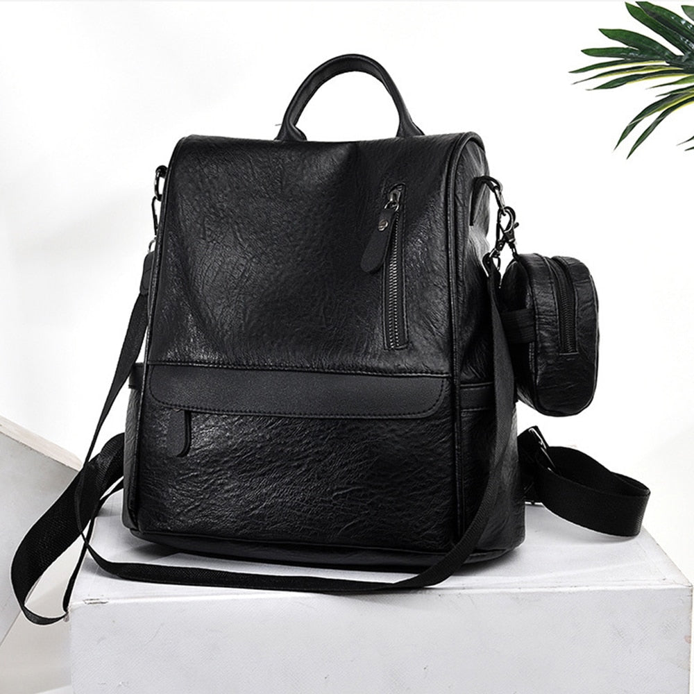 Leather Shopping Bag (Available in 2 colors)