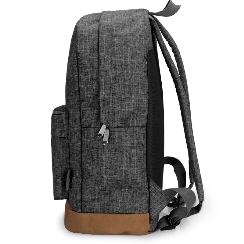 Canvas Backpack w/ 15 Inch Laptop pocket ( 4 Colors available)