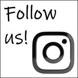Follow us on Instagram! (A stylised follow-us-on-Instagram image with glossy black-and-white version of the Instagram logo.)
