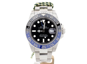 "Sought-After Rolex GMT-Master II ""Batman"" 116710BLNR in Mint Condition"