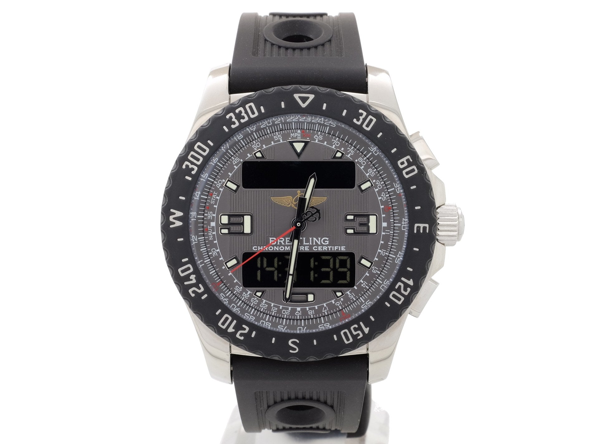 44mm Breitling Airwolf Raven Model A7836438