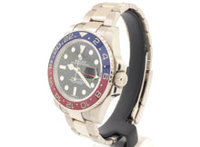 Load image into Gallery viewer, *18ct White Gold* Rolex GMT-MASTER II Model 116719BLRO