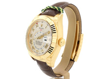 Load image into Gallery viewer, Stunning 42mm 18-ct Gold Rolex SKY-DWELLER Model 326138