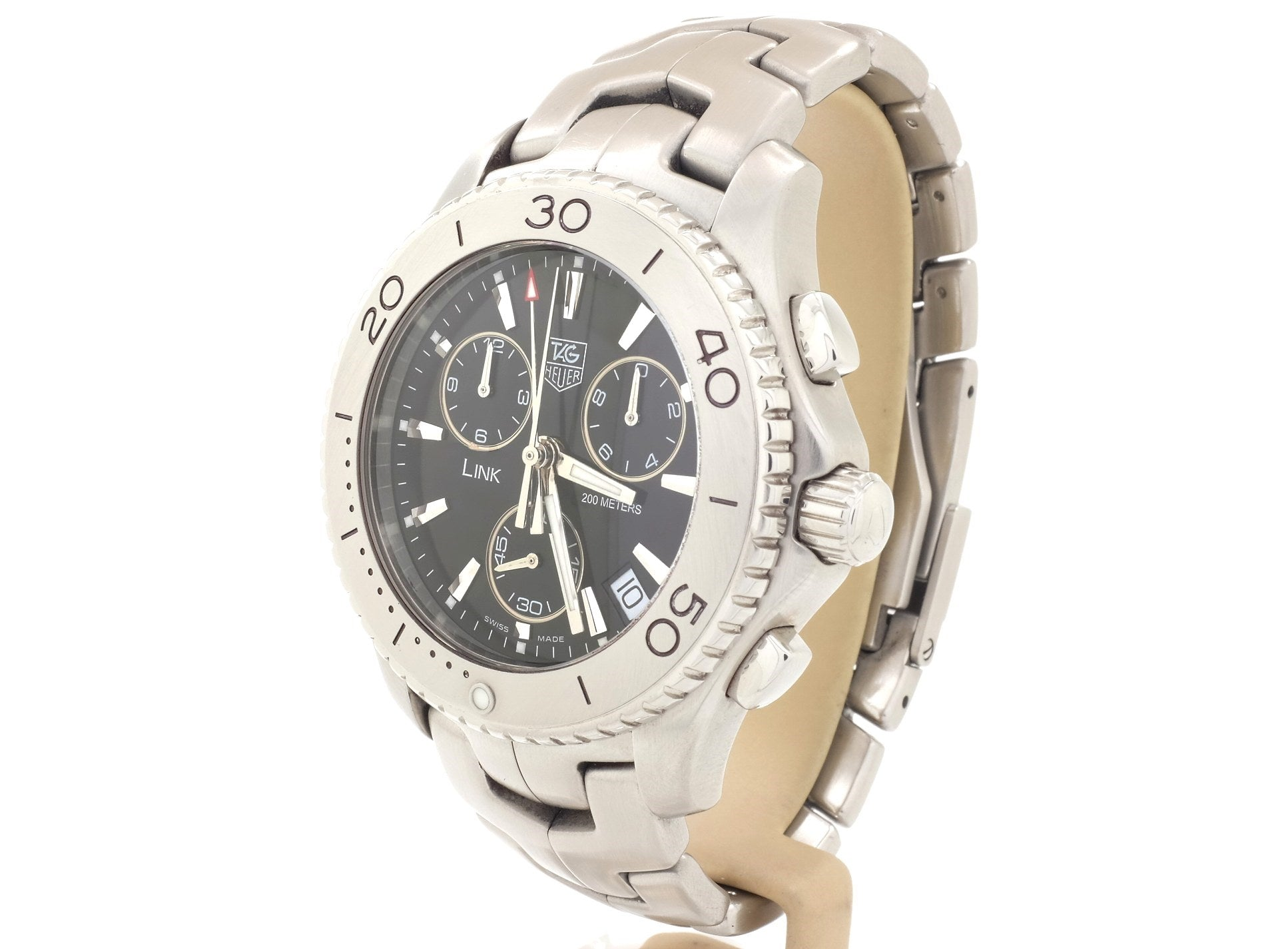 TAG Heuer 'LINK' Quartz Chronograph Model CJ1110