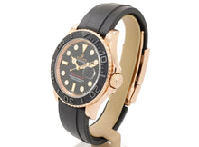 Load image into Gallery viewer, MINT Condition 18ct Rose-Gold Rolex YACHT-MASTER 40 116655 with Oysterflex Strap