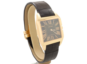35mm 2009 Cartier SANTOS Dumont Model 2650 in 18ct Rose Gold