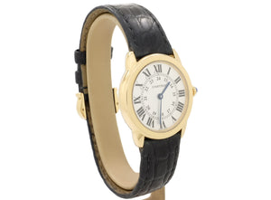 29mm 2015 Cartier RONDE SOLO Model 2987 with 18ct Case in Very Good Condition