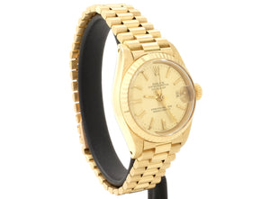 18ct Ladies' 1980 26mm Rolex DATEJUST 6917 with President Bracelet