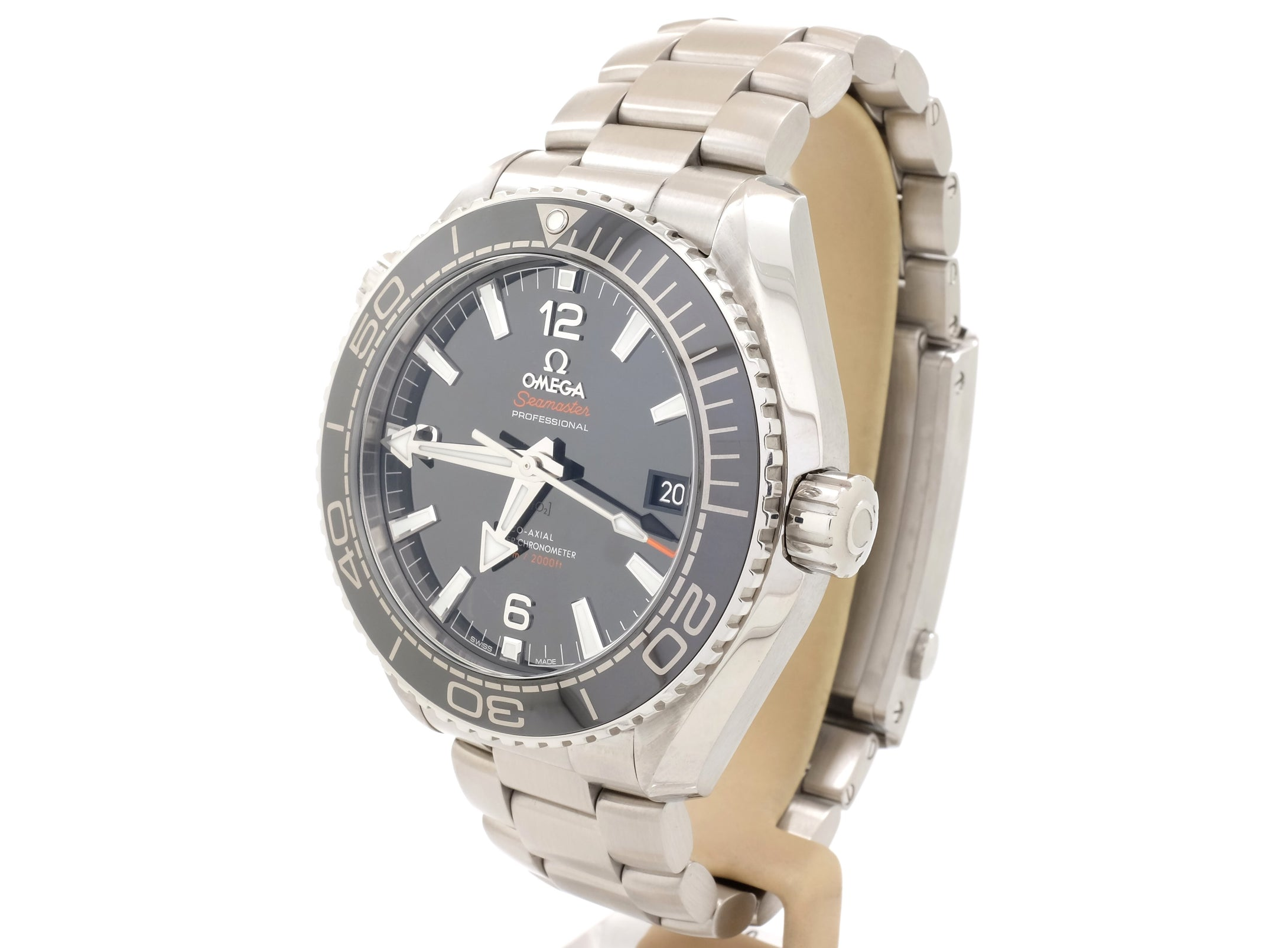 2016 Omega Seamaster PLANET OCEAN 600M Co‑Axial Master Chronometer 43mm 215.30.44.21.01.001
