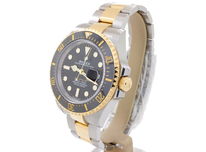 ++ STUNNING NEW 2019 MODEL: ROLEX SEA-DWELLER in STEEL AND YELLOW GOLD ++