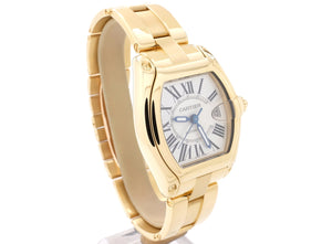 Stunning 37mm-wide 18ct Yellow Gold Cartier ROADSTER Model 2524