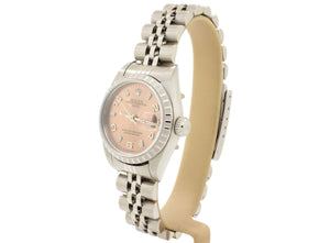 Elegant Ladies' Rolex DATE Model 79240 with Pink Dial