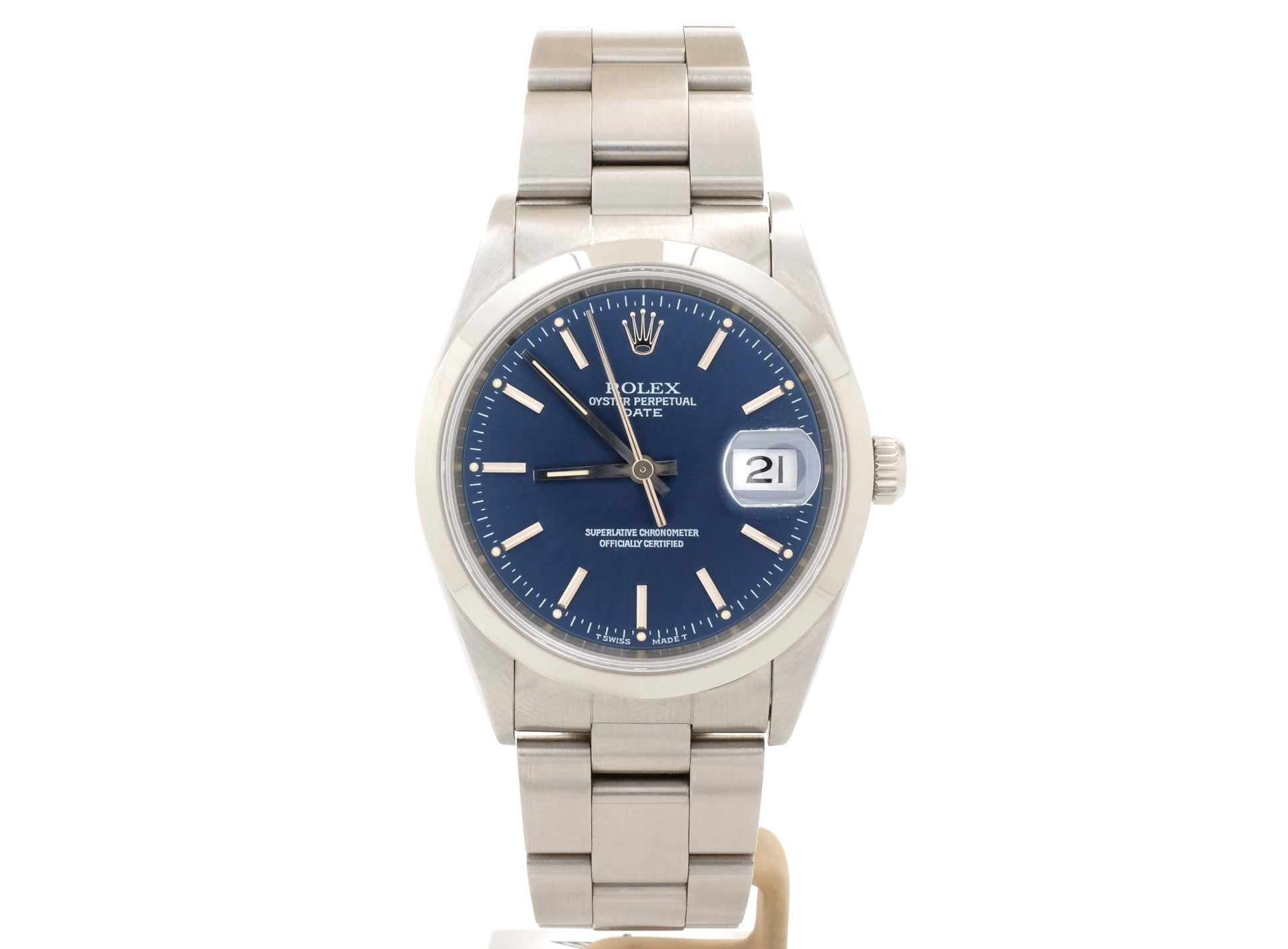 Rolex DATE Model 15200 with Dark Blue Dial