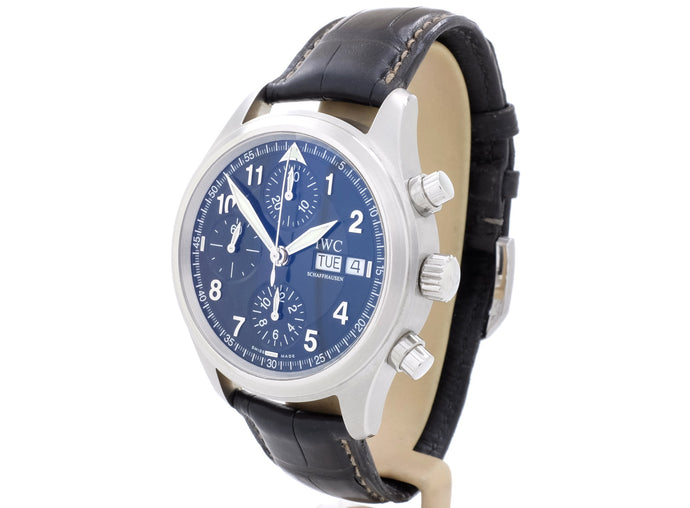 39mm IWC FLIEGERUHR CHRONOGRAPH AUTOMATIC Ref. 3706