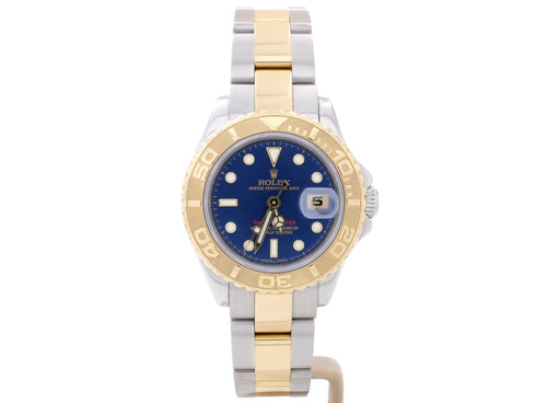 29mm Rolex YACHT-MASTER Model 169623 in Steel and 18-Carat Gold