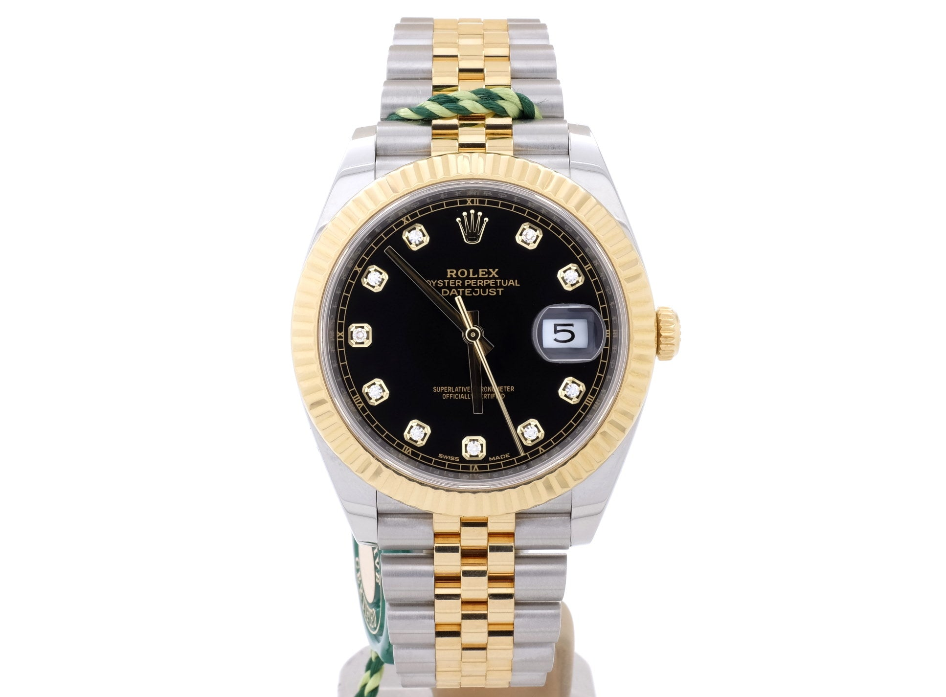 Steel & 18-ct Gold Rolex 'DATEJUST 41' 126233 with Original Diamond-Dot Dial