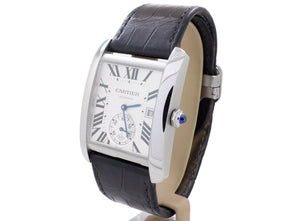 BIG (34 x 44mm) Cartier TANK XL Auto Model 3589 with Display Case-Back