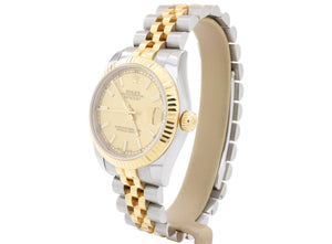 2016, 31mm Rolex LADY-DATEJUST Model 178273 in Steel and 18-ct Gold