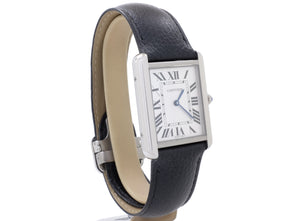 Mint Condition 2018 Cartier TANK SOLO Model 3169