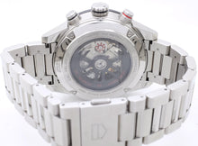 Load image into Gallery viewer, 43mm Steel TAG Heuer CARRERA Model CAR201W with Display Case Back