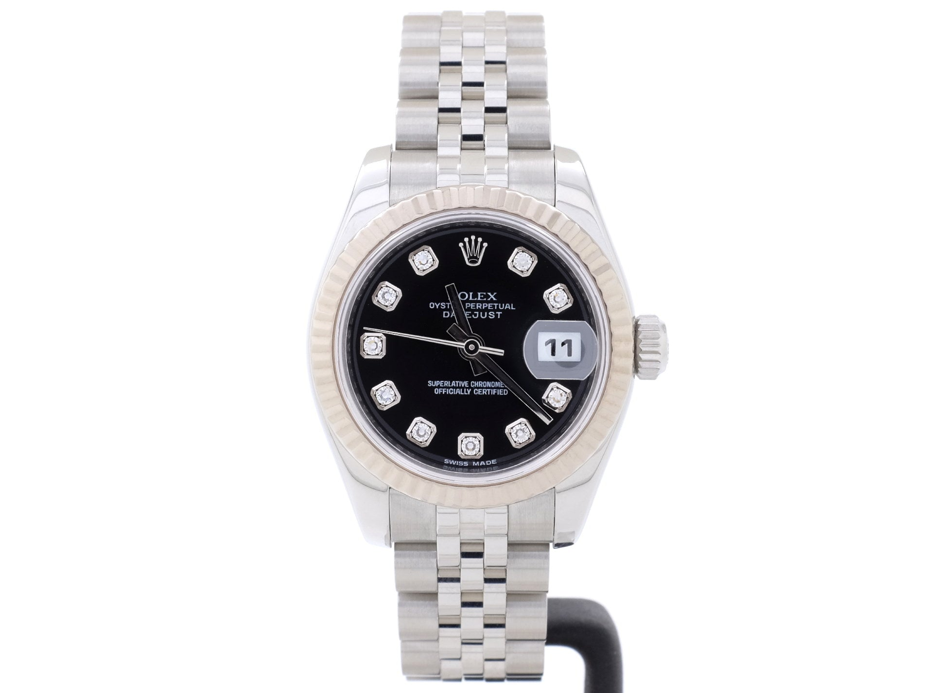 Excellent Condition 26mm Rolex Lady-Datejust 179174 with Original Diamond-Dot Dial