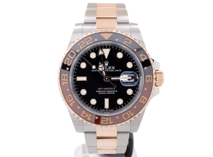 MINT July 2019 Steel & Everose 'ROOT BEER' Rolex GMT-Master II 126711CHNR