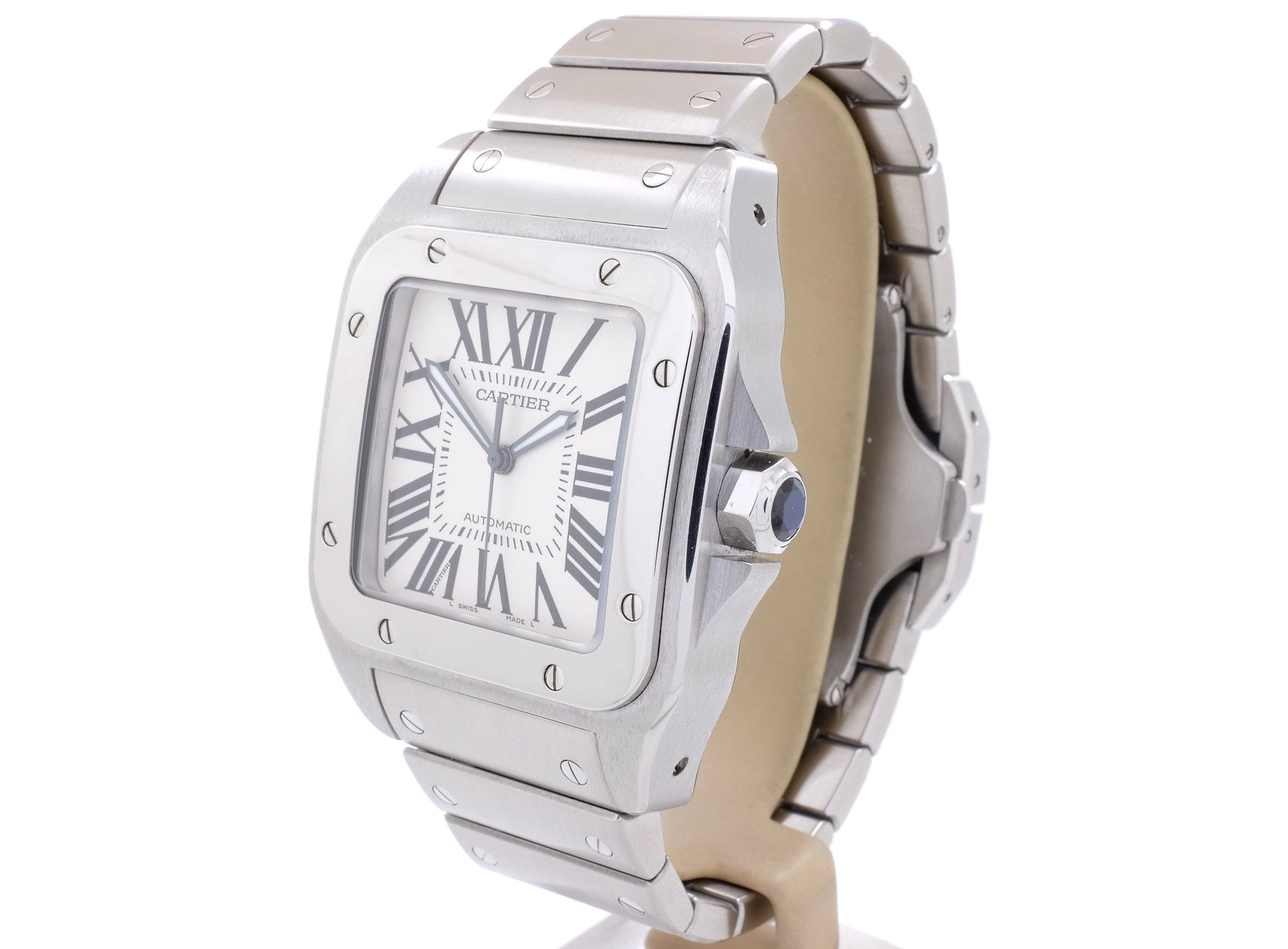 BIG 2005 Cartier SANTOS 100 XL in *Excellent* Condition